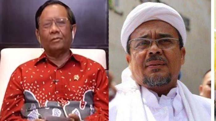 Sebut Habib Rizieq Selalu Tolak Bantuan dari Pemerintah, Mahfud MD Malah Dikirim Video Tantangan
