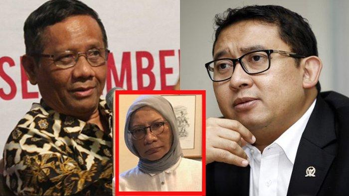 Bila Ratna Sarumpaet Terbukti Bohong, Mahfud MD Minta Fadli Zon dan Rachel Maryam Dijerat UU ITE