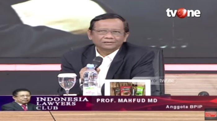 Mahfud MD Bocorkan Kondisi Jokowi Saat Rapat Pembahasan Perppu KPK : Presiden Biasanya Serius