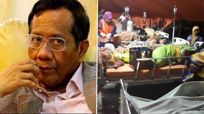 Soal Anggapan Bencana Gempa di NTB Adalah Azab, Mahfud MD Beri Jawaban Menurut Al Quran