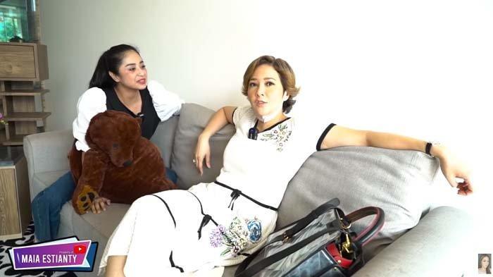 Heran Lihat Rumah Dewi Perssik Rp 30 M Tapi Kosong, Maia Estianty Salah Fokus : Lu Abis Bercinta ?
