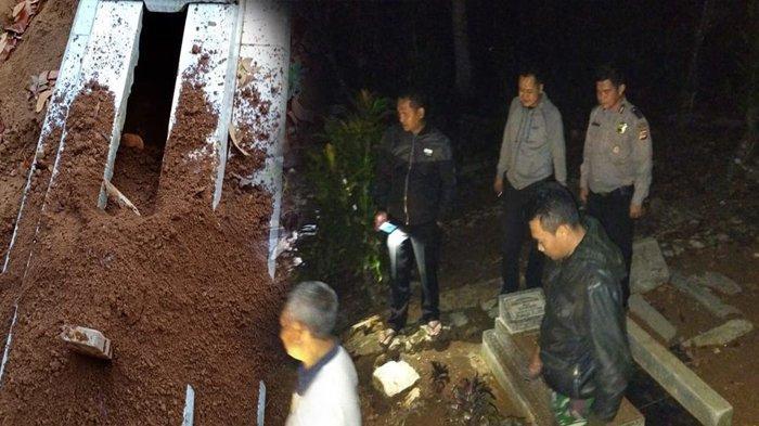 Terungkap Misteri Puluhan Makam Terbongkar di Tasikmalaya, Ternyata Pelakunya Bukan Manusia