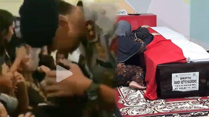Jerit Tangis Keluarga Pecah Saat Pengajian 5 Polisi Korban Penyerbuan Teroris di Mako Brimob, Sedih!