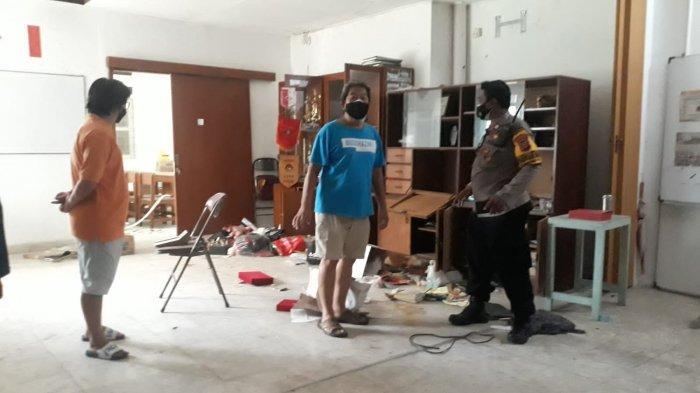 Kosong Selama Pandemi, Gedung di Suryakancana Bogor Diacak-acak Maling