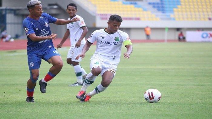 Hasil Piala Menpora 2021 Arema FC vs Persikabo 1973 - Dendi Santoso Cetak Gol Penyeimbang