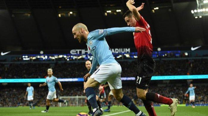 Hasil Pertandingan Manchester United Vs Manchester City - City Kembali ke Puncak Klasemen