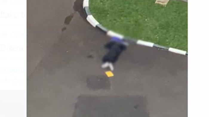 Terduga teroris jatuh terkapar usai ditembak aparat, nekat masuk ke Mabes Polri