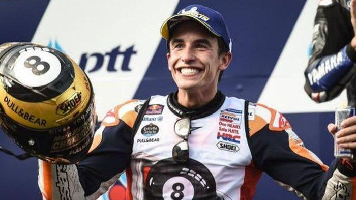 Marc Marquez Mengaku Tak Terobsesi Pecahkan Rekor Milik Rossi dan Agostini, Ini Alasannya