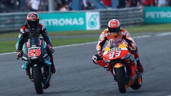 Link Live Streaming MotoGP 2020 Akhir Pekan Ini - Persaingan Ketat, Quartararo Pimpin Klasemen