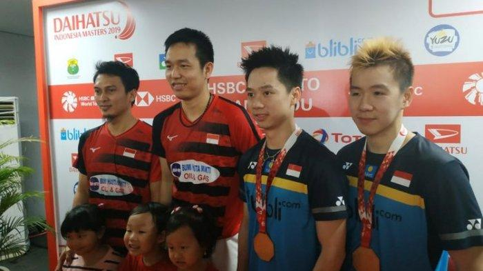 Berlangsung di TVRI Final Indonesia Masters 2020: Marcus/Kevin vs Ahsan/Hendra, Siapa Jagoanmu?