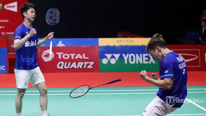 Rekap Hasil Bulutangkis Wakil Indonesia di Olimpiade Tokyo, Ganda Putra Perkasa