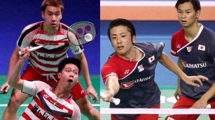 Final All England 2020: Indonesia Kirim 2 Wakil, Marcus/Kevin Lawan Musuh Bebuyutan Endo/Yuta