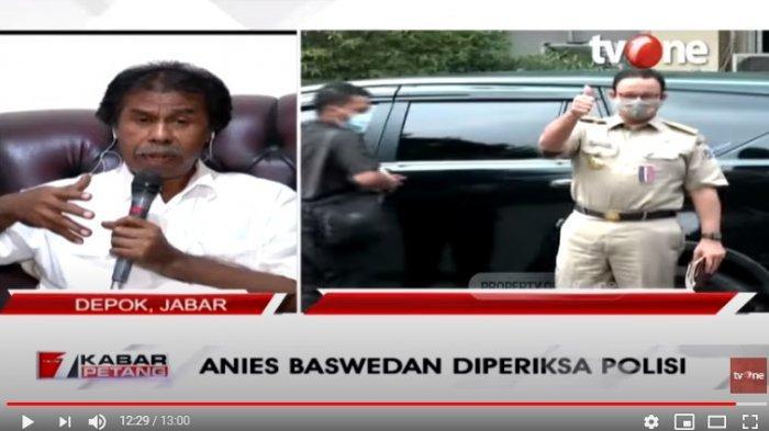 Anies Baswedan Diperiksa Polisi Akibat Kerumunan Acara Habib Rizieq, Margarito Kamis : Kasus Ece-ece