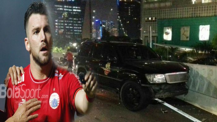Selamat dari Kecelakaan, Marko Simic Bersyukur Langsung Jalani Latihan Bareng Persija