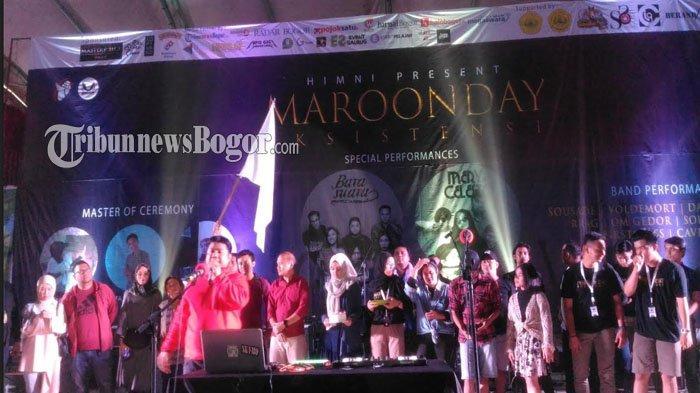 Maroon Day Universitas Pakuan Berlangsung Meriah, Closing Dengan Perform Barasuara