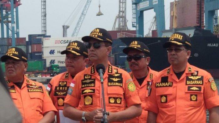 Momen Kabasarnas Menangis Depan Keluarga Korban Lion Air JT610, Kepala KNKT Tak Kuasa Bicara
