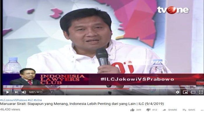 Maruar Sebut Ferdinand Hutahaean Akan Mau Jadi Menteri Jokowi, Dahnil Anzar Langsung Rebut Mic