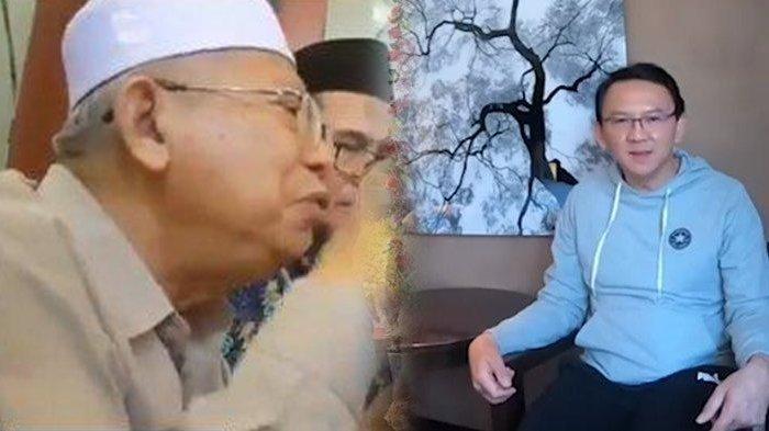Maruf Amin Ungkap Fakta Sebenarnya Terkait Video Soal Ahok, Ini Alasannya Ingin Mencegah BTP