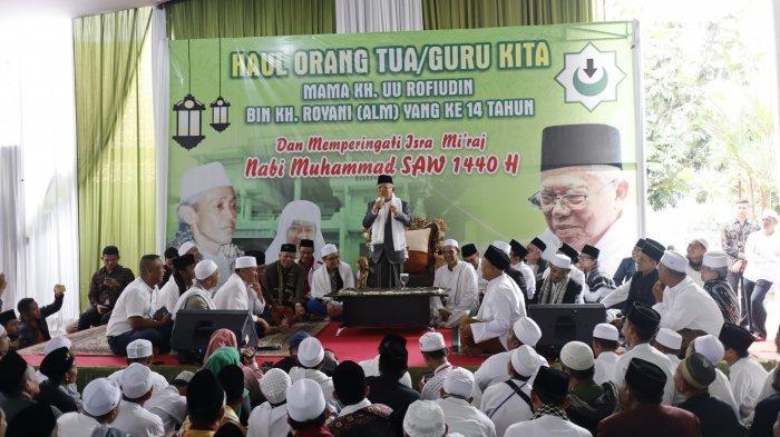 Bahas Soal Ulama, Maruf Amin Sebut Sekarang Banyak yang Tidak Pesantren tapi Jadi Kiai