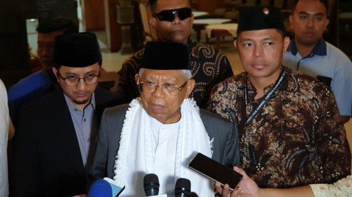 Maruf Amin Jadi Wapres Tertua yang Dilantik : Usia 76 Jiwa Masih 40