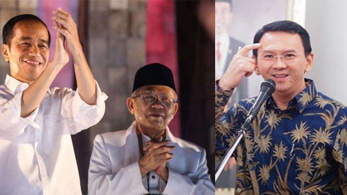 Ahok Resmi Bebas, TKN Jokowi - Ma'ruf Amin Sebut Tak Ada Rencana Ajak BTP Gabung ke Koalisi