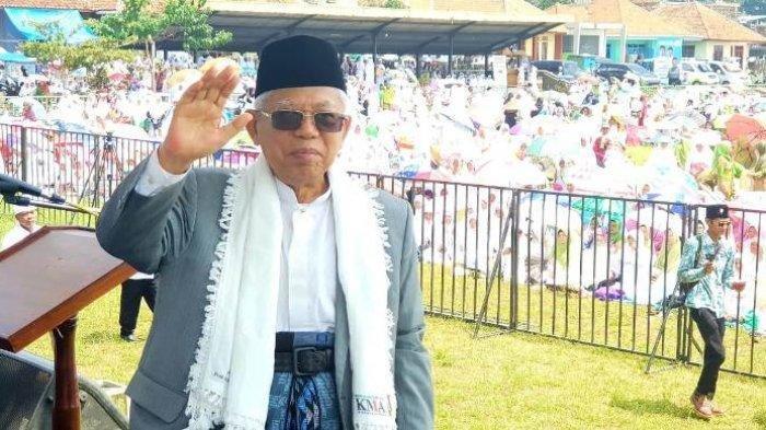 Maruf Amin : Ada yang Bilang Saya Jadi Alat Doang, Memangnya Saya Pacul ?