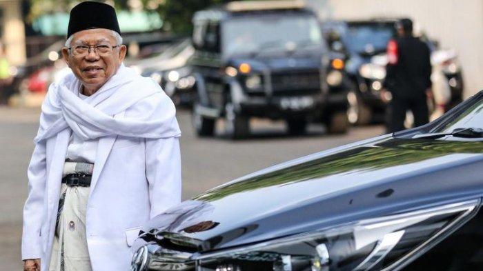 Ma'ruf Amin Klaim Didukung 400 Kyai Besar Pimpinan Pondok Pesantren