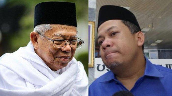 Fadli Zon Singgung Kemungkinan Putusan MK, Fahri Hamzah Menolak Bahas Polemik Jabatan Maruf Amin