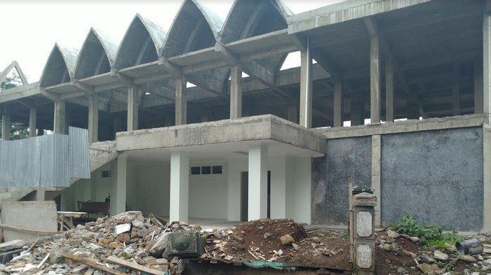 Kelanjutan Renovasi Masjid Agung Kota Bogor Terhambat SOTK