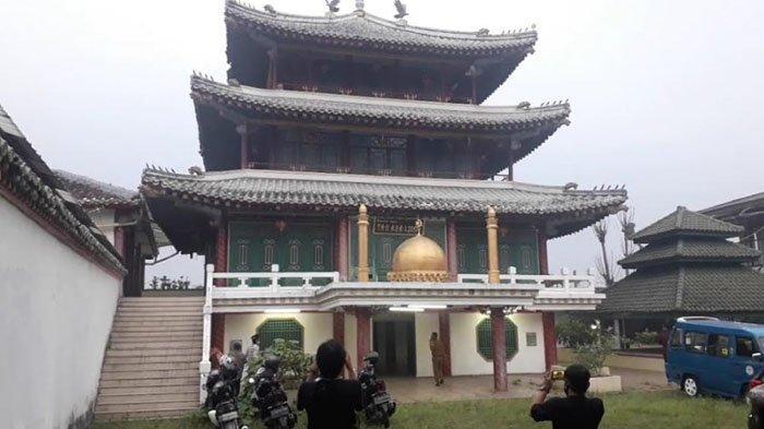 Pesantren Bergaya Tionghoa At Taibin di Bogor, Masjid Kerap Dipakai Syuting, Ponpes Sudah Tak Aktif