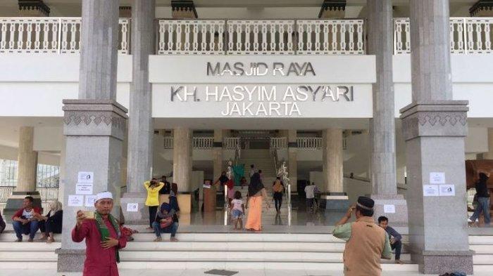 Masjid KH Hasyim Asy'ari di Cengkareng Siap Gelar Shalat Jumat, Tiap Jemaah Diberi Jarak 1,5 Meter