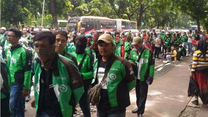 Ribuan Pengemudi Ojek Online Akan Demo di Depan Istana, Minta Payung Hukum
