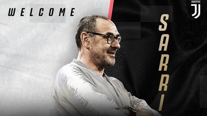 Dikontrak 3 Tahun, Maurizio Sarri Jadi Pelatih Anyar Juventus