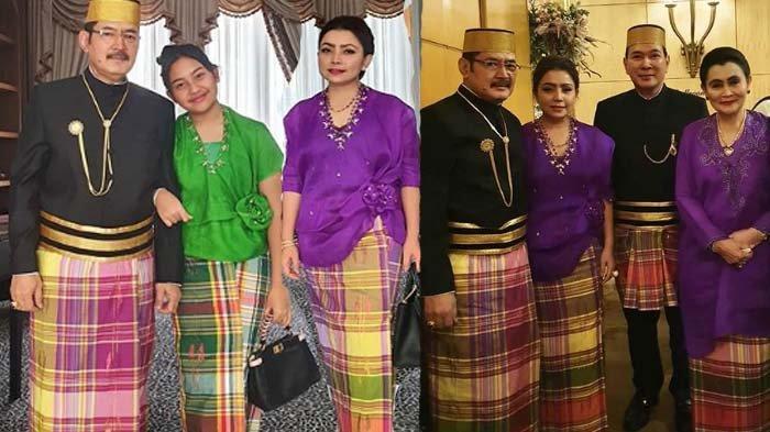 Mayangsari dan Bambang Trihatmodjo bareng Keluarga Cendana di pernikhan Danny Rukmana