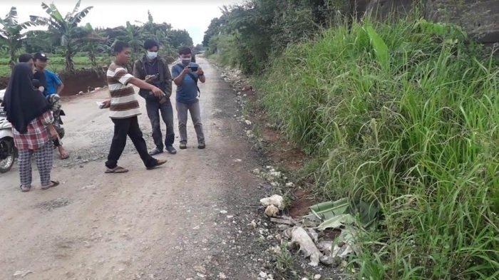 BREAKING NEWS: Geger Temuan Mayat dalam Karung di Cibinong Bogor, Leher Korban Terputus