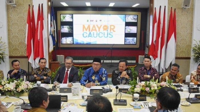 Ridwan Kamil Bahas Keadilan Fiskal di Mayor Caucus 55th ISOCARP World Planning Congress 2019