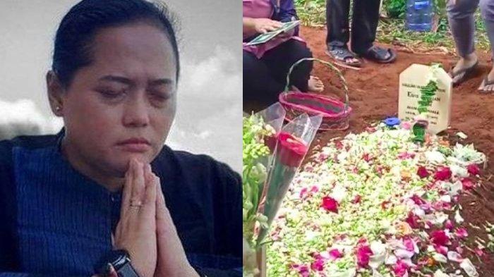 VIDEO Pemakaman Mbak You di Bandung, Keluarga Nangis di Depan Pusara : Dia Bilang Udah Enggak Kuat