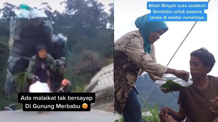 Bolak-balik ke Gunung Gendong 40 Kg Sampah, Pemulung Ini Rutin Bantu Lansia : Malaikat Tak Bersayap