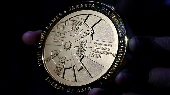 Update Perolehan Medali Indonesia di Asian Games 2018 Jumat Ini