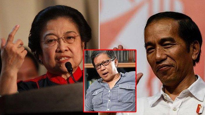 Rocky Gerung Sebut Jokowi dan PDI-P Kini Sedang Bersaing: Sialnya Pimpinan Oposisi Ada di Dalamnya