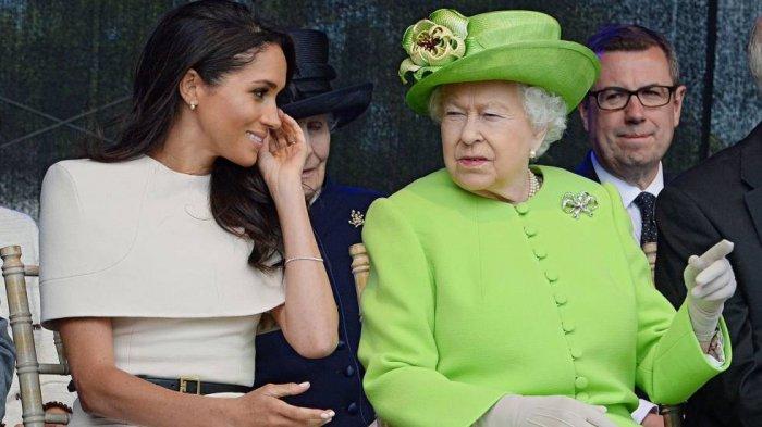 Meghan Markle Pamer Kehamilan Anak Kedua, Ratu Elizabeth II dan Pangeran Charles Bereaksi Ini