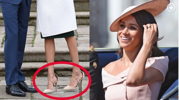 Meghan Markle Selalu Dapat Kritikan Pakai Sepatu Longgar, Pakar Mode Dunia Beberkan Alasannya !