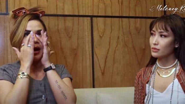 Persahabatan Melaney Ricardo dan Ayu Dewi Retak Gara-gara Ini : Gue Kan Anaknya Baper