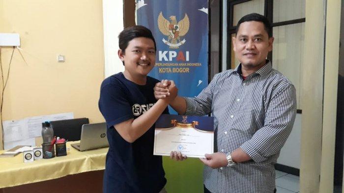 KPAI Bogor Beri Penghargaan Kepada Wartawan di Momen Hari Pers Nasional