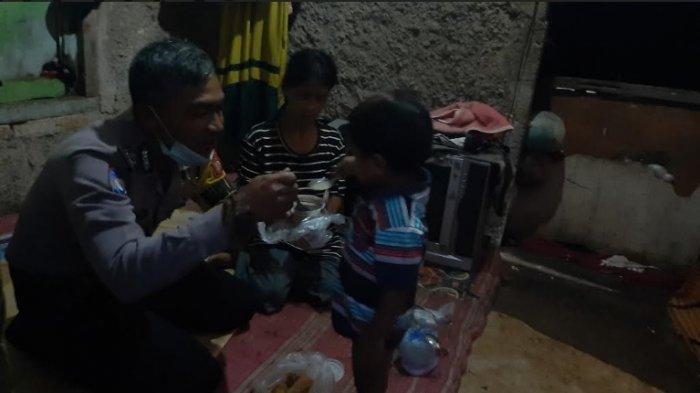Memelihara Rasa Kekeluargaan, Bhabinkamtibmas Desa Bojonggede Buka Puasa di Rumah Warga