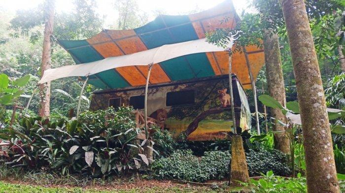 Sensasi Baru Menginap di Mobil Karavan di Tengah Hutan Bogor, Serasa Film Hollywood