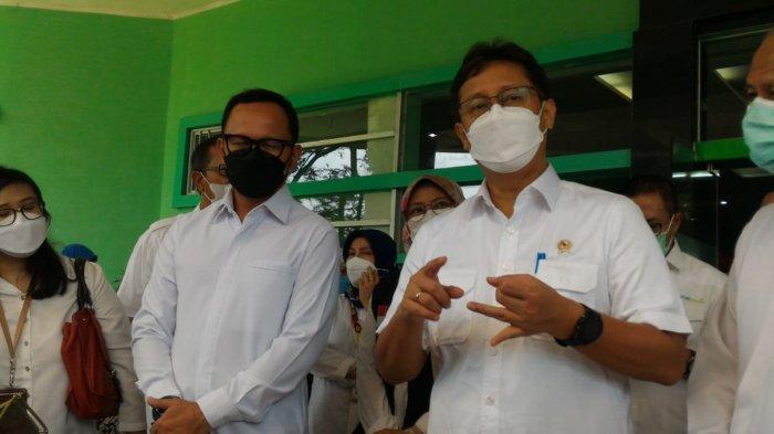 Datangi RS Jiwa di Bogor, Menkes Budi Tinjau Pelaksanaan Vaksinasi ODGJ