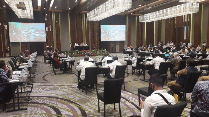 Menteri ATR/BPN Gelar Rapat Koordinasi di Gadog Puncak Bogor, Gubernur Ridwan Kamil Turut Hadir