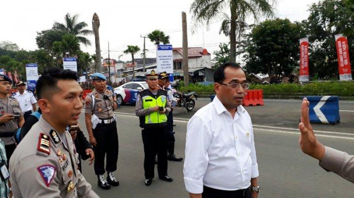 Tinjau Jalur Mudik di Puncak, Menteri Perhubungan Sampaikan Rencana Ini Pada Kapolres Bogor