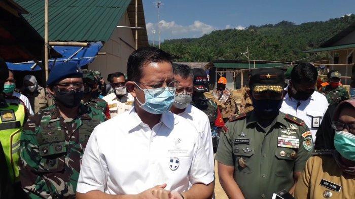 Ribuan Korban Longsor Sukajaya Bogor Tinggal di Huntara, Mensos : Sejauh Ini Bagus Ya?